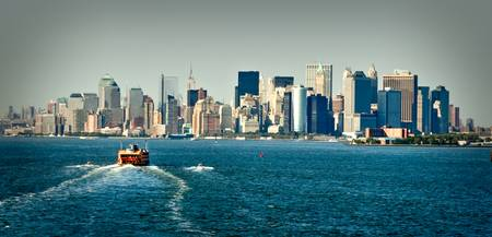 New York Skyline, New York, New York