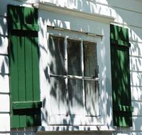 Green Shutters, White House , Cape May, New Jersey