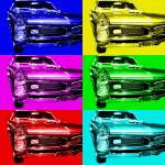 """Pontiac GTO Six"" by wingsdomain"