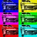 """Pontiac GTO Six"" by wingsdomain"