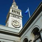 """""""Ferry Building Clock Tower"""" by lowellaguno"""