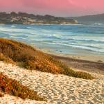 """Central California Coast Sunset"" by lowellaguno"