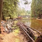 """Merced River and Stoneman Bridge"" by lowellaguno"