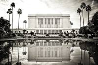 LDS Mesa Temple B&W