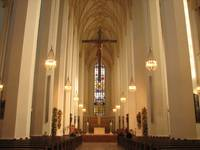 Inside Frauenkirche (Church of Our Lady)