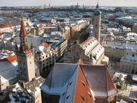 Altes Rathaus and Heiliggeistkirche (The Church of