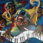 """""""Get Funky Jazz Performers"""" by reniebritenbucher"""