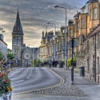 Alexandra place / City Road, St Andrews Art Prints & Posters by Stuart Reid