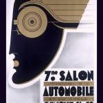 """Salon Automobile"" by VintageAd"