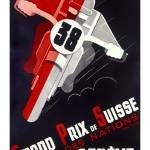 """Grand Prix Suisse"" by VintageAd"