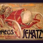 """Pneus Jenatzy"" by VintageAd"