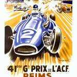 """Reims Race"" by VintageAd"