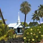 """Little Blue Church, Kona"" by kurt50"