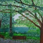 """Live Oak Lake"" by annaeisenberg"
