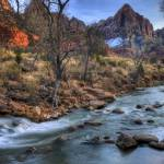 """Sunset at The Watchman by Jim Crotty"" by jimcrotty"