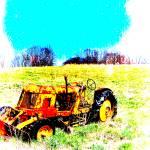 """Beechnut Tractor"" by adifferenteyephotography"