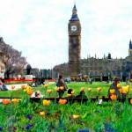 """Parliament Square, London, UK"" by kurt50"