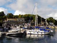 Padstow Harbor, Cornwall, UK