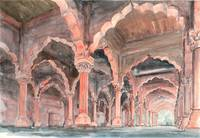 Arches & Columns at Diwan-i-Am