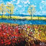 """FLOWER FIELDS"" by claudemarshall"