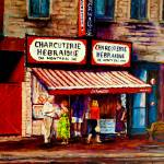 """SCHWARTZS HEBREW DELI"" by carolespandau"
