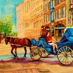 """CALECHE RIDE OLD MONTREAL"" by carolespandau"