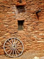 Hopi House Wagon Wheel