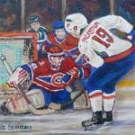 """HALAK MAKES THE SAVE"" by carolespandau"