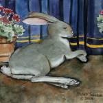 """Regal Rabbit"" by revelation_art_studio"