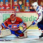 """HALAK MAKES ANOTHER SAVE"" by carolespandau"