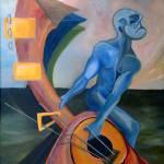 """Blue Man"