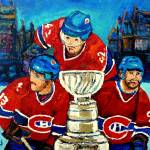 """CANADIANS  WIN THE STANLEY CUP next time"" by carolespandau"