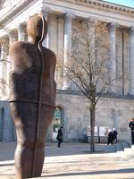 Iron Man by Anthony Gormley (b 1950)