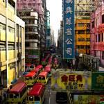 """red top buses"" by daviddeehoeng"