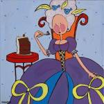 """Marie Antoinette - Let them eat cake"" by Wendy_Ferguson"