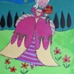 """""""Marie Antoinette in her garden"""" by Wendy_Ferguson"""