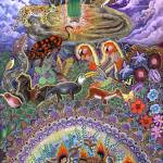 """Encantu Rumi"" by Ayahuasca_Visions"