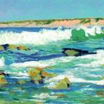 """Waves in La Jolla Cove San Diego"" by BeaconArtWorksCorporation"