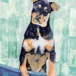 """Cody The Rottwieler Puppy by RD Riccoboni"" by RDRiccoboni"