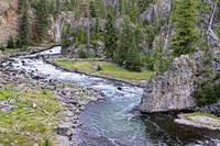 Yellowstone's Firehole Canyon