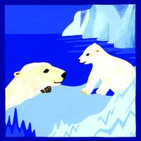 Polar Bears - Mother & Cub