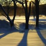 """Blustery January Sunset"" by saraalexandermunoz"