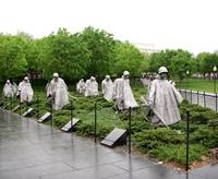 Korean War memorial, Washington D.C.