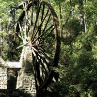 The water wheel Art Prints & Posters by The Mears