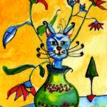 """Where Did The Cat Go ? - by Ginette"" by GinetteCallaway"
