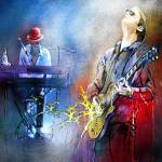"""Joe Bonamassa and The Pianist"" by mikifonvielle"