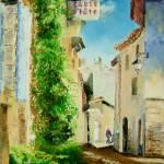"""Rue en Aix-Provence"" by ArtByDianeKraudelt"