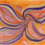 """Floating Flora Chakra"" by KarlaRickerArt"