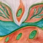 """Leaf Chakra"" by KarlaRickerArt"