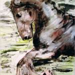 """The Horse Watercolor & Ink by Ginette"" by GinetteCallaway"